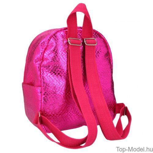 Kép 3/3 - TOPModel mini hátizsák kígyóbőr mintás pink