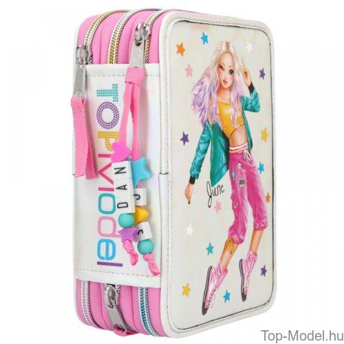 Kép 4/5 - TOPModel 3 emeletes töltött tolltartó Dance pink