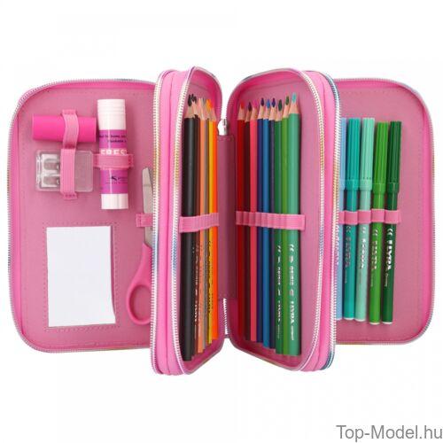 Kép 5/5 - TOPModel 3 emeletes töltött tolltartó Dance pink