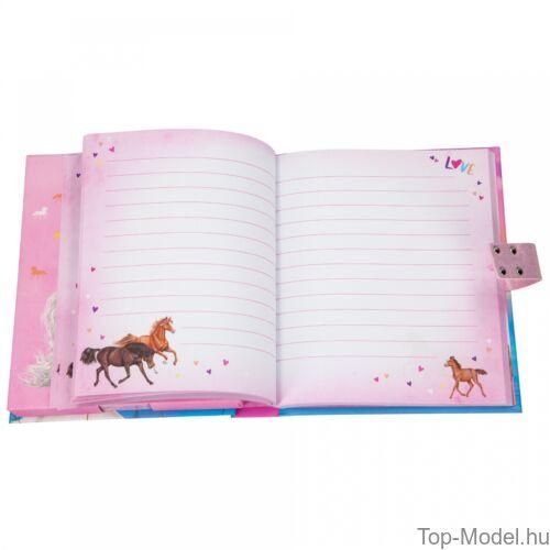 Miss Melody számkódos zenélő titkos napló