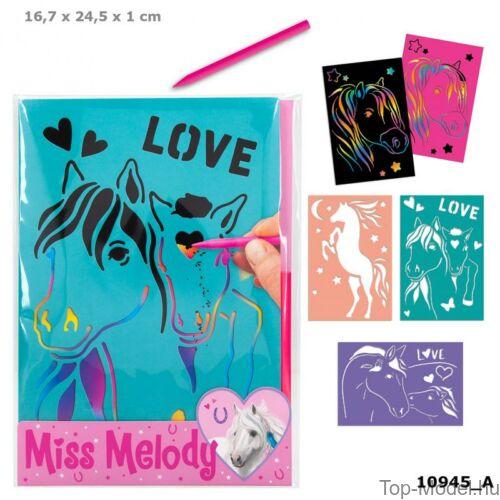 Kép 1/3 - Miss Melody Magic Kártya sablonnal