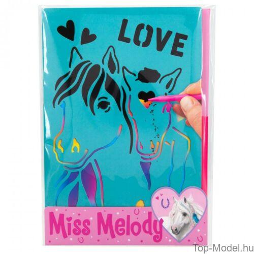 Kép 2/3 - Miss Melody Magic Kártya sablonnal