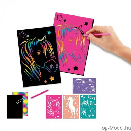 Kép 3/3 - Miss Melody Magic Kártya sablonnal