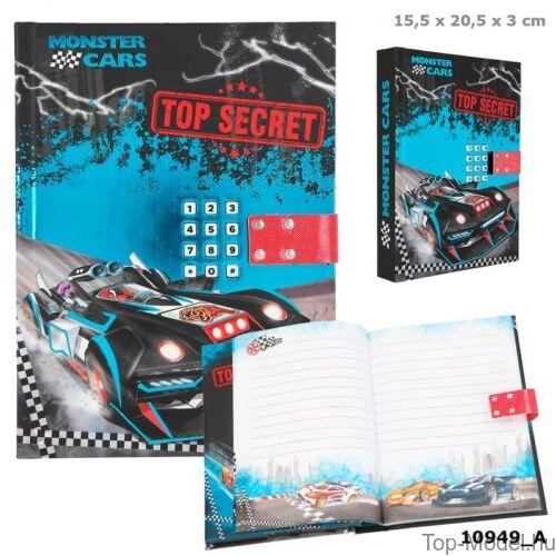Kép 1/5 - Monster Cars titkos napló hanggal