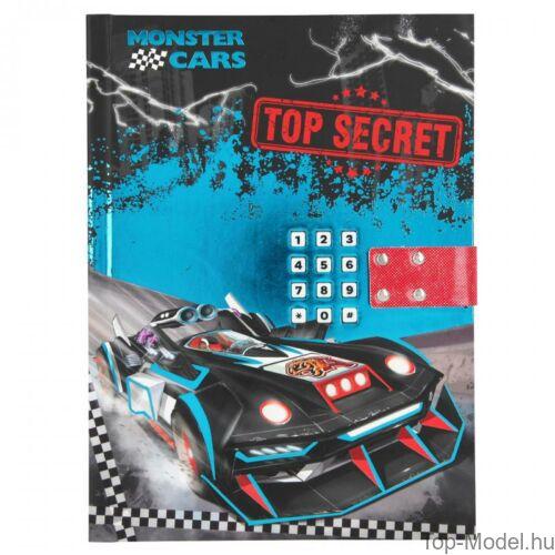 Kép 2/5 - Monster Cars titkos napló hanggal