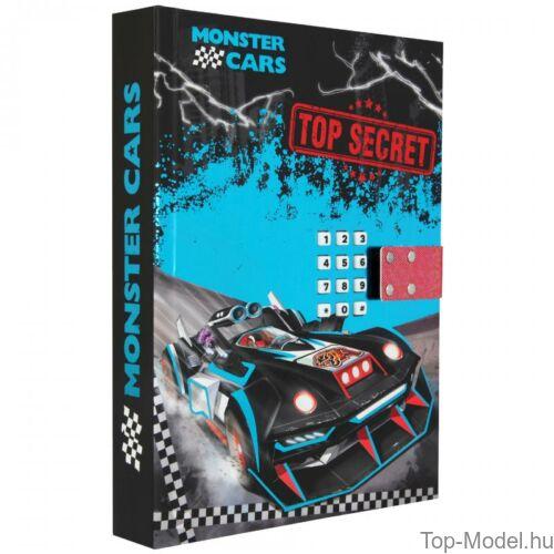 Kép 3/5 - Monster Cars titkos napló hanggal