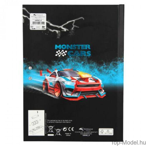 Kép 5/5 - Monster Cars titkos napló hanggal