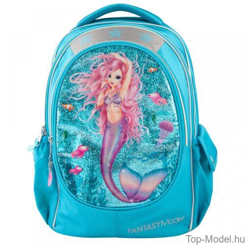 Kép 2/5 - Fantasy Model ergonómikus iskolatáska Mermaid