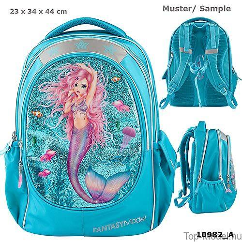 Kép 1/5 - Fantasy Model ergonómikus iskolatáska Mermaid