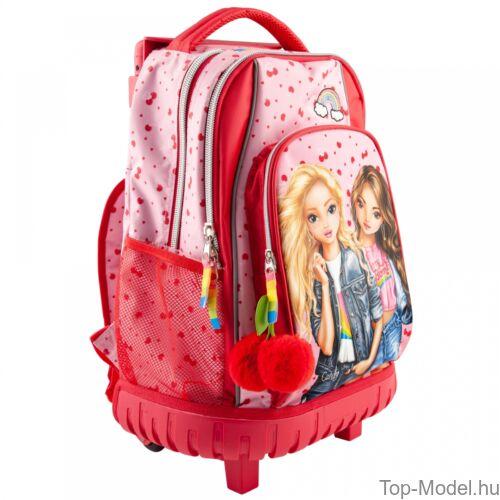 TOPModel Gurulós iskolatáska Cherry Bomb