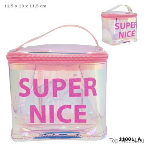 Kép 1/3 - TOPModel kozmetikai táska HOLO Pink