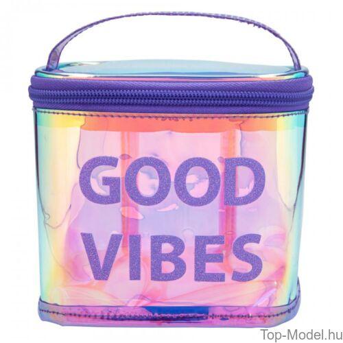 Kép 2/3 - TOPModel kozmetikai táska HOLO Purple