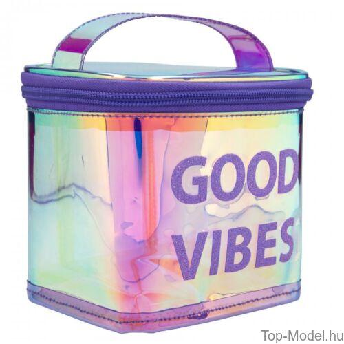 Kép 3/3 - TOPModel kozmetikai táska HOLO Purple