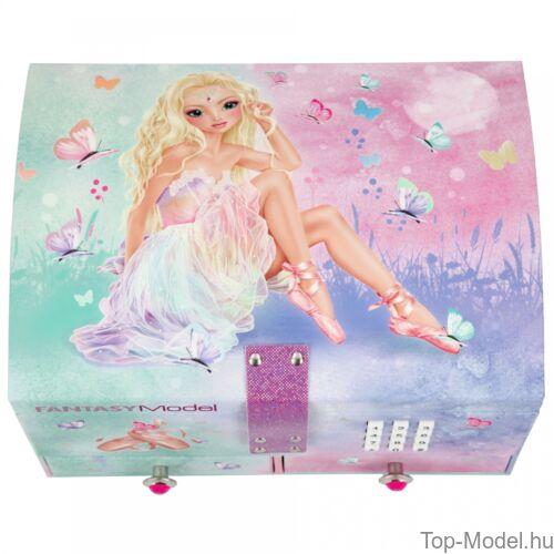 Fantasy Model kódos, zenélő ékszerdoboz Ballet