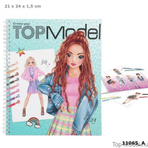 Kép 1/6 - TOPModel kreatív ruhatervező könyv