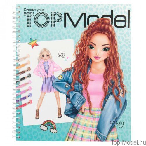 Kép 2/6 - TOPModel kreatív ruhatervező könyv