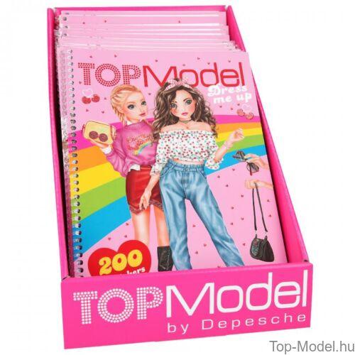 TOPModel Dress me up matricás tervező CHERRY Bomb