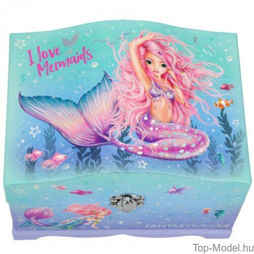 Kép 2/6 - Fantasy Model világító ékszerdoboz Mermaid