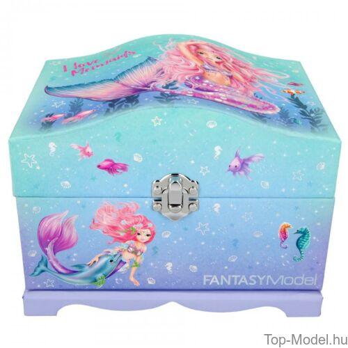 Kép 3/6 - Fantasy Model világító ékszerdoboz Mermaid