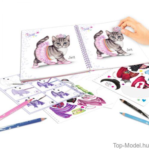 Kép 2/3 - TOPModel Kitty ruahtervező könyv