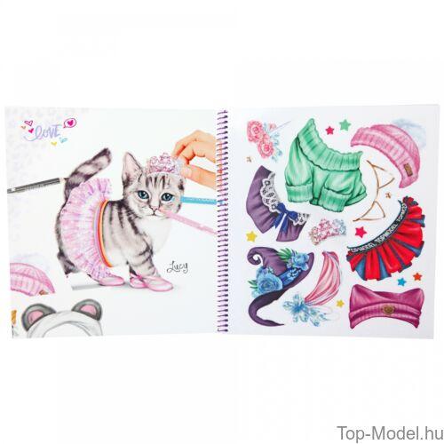 Kép 3/3 - TOPModel Kitty ruahtervező könyv