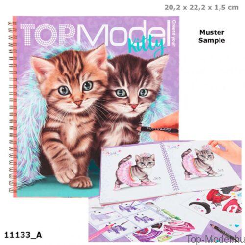 Kép 1/3 - TOPModel Kitty ruahtervező könyv
