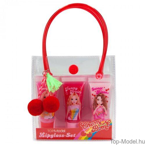 TOPModel szájfényszett táskában Cherry Bomb