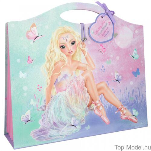 Kép 2/4 - Fantasy Model rajzgyűjtő album BALETT