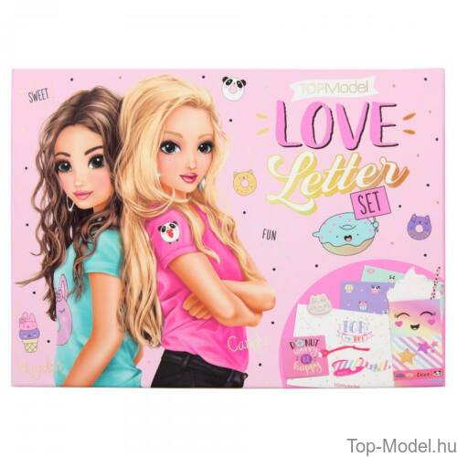 Kép 2/6 - TOPModel szerelmes levél szett CANDY CAKE