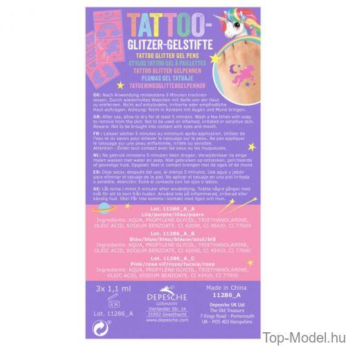 Kép 4/4 - Ylvi & Minimoomis Csillámos Tetováló Toll