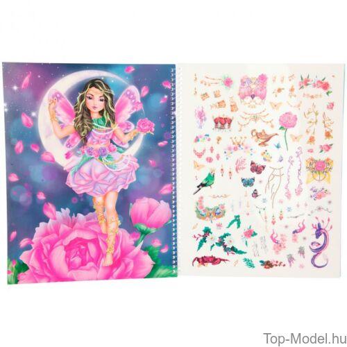 Kép 2/8 - Fantasy model Kreatív Kifestőkönyv