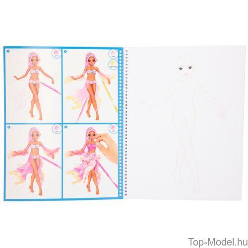 Kép 3/8 - Fantasy model Kreatív Kifestőkönyv