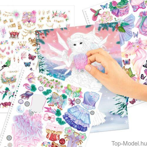 Kép 4/8 - Fantasy model Kreatív Kifestőkönyv