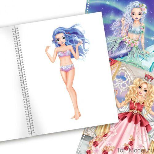 Kép 5/8 - Fantasy model Kreatív Kifestőkönyv