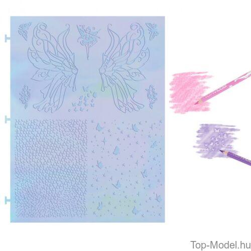 Kép 7/8 - Fantasy model Kreatív Kifestőkönyv