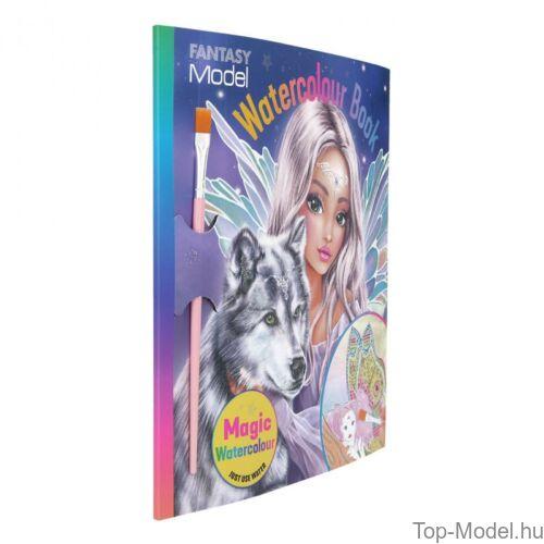 Kép 2/4 - Fantasy Model Vizes kifestőkönyv FAIRY