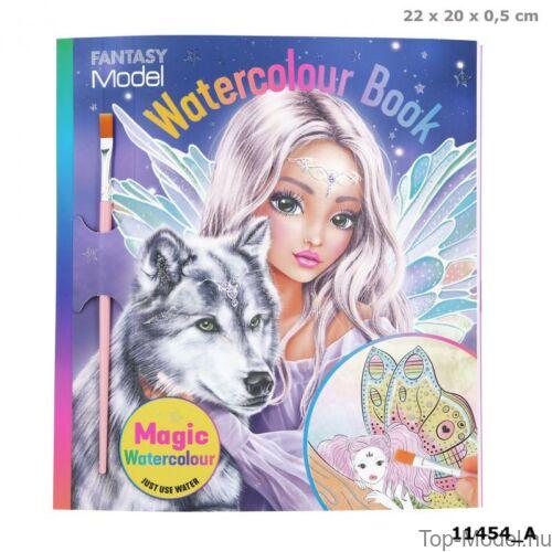Kép 1/4 - Fantasy Model Vizes kifestőkönyv FAIRY