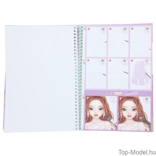 Kép 5/8 - TOPModel Ruhatervező Tollkészlettel