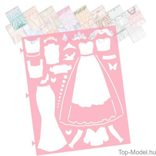 Kép 7/9 - TOPModel Esküvői Ruhatervező Könyv