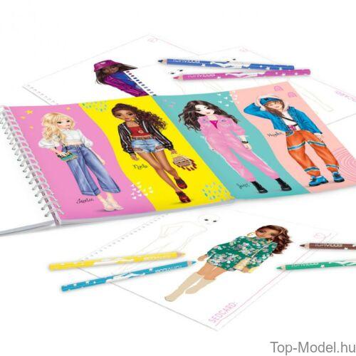Kép 2/4 - TOPModel Kreatív Ruhatervezőkönyv