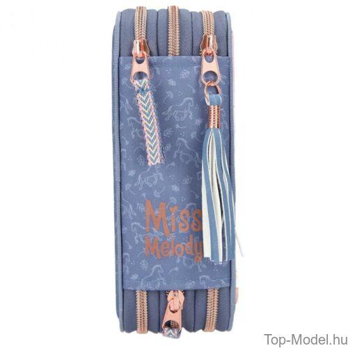 Kép 4/5 - Miss Melody 3 emeletes töltött tolltartó NATURE