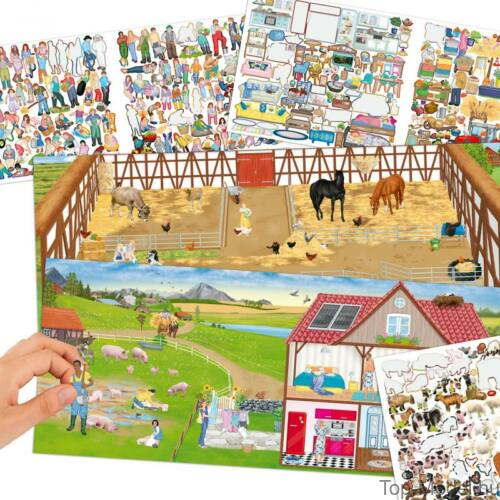 Kép 2/4 - Farm Kreatív Matricázós Könyv