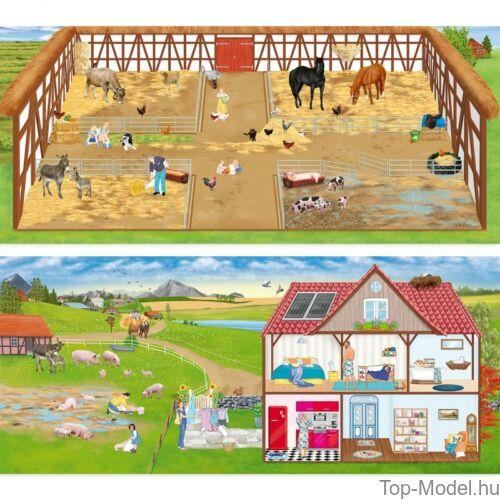 Kép 4/4 - Farm Kreatív Matricázós Könyv