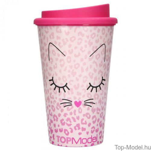 Topmodel ivópohár tetővel CAT