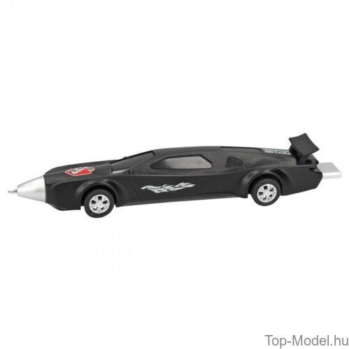 Kép 2/5 - Monster Cars golyóstoll autó alakú, kék