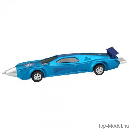 Kép 3/5 - Monster Cars golyóstoll autó alakú, kék