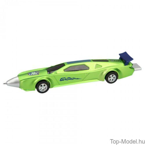 Kép 4/5 - Monster Cars golyóstoll autó alakú, kék