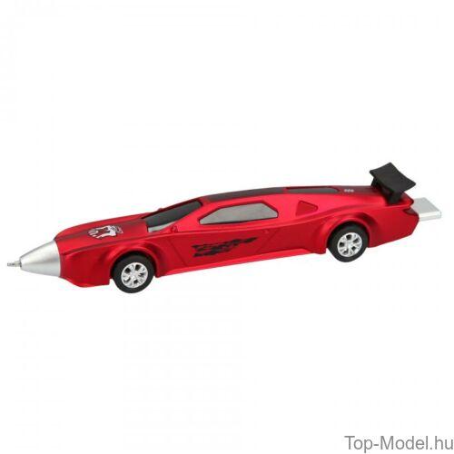 Kép 5/5 - Monster Cars golyóstoll autó alakú, kék