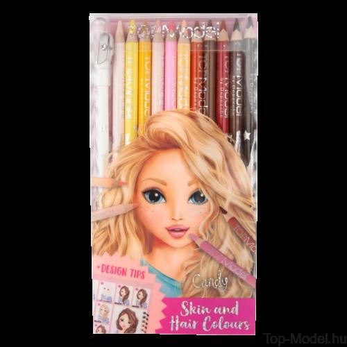 Kép 2/4 - TOPModel színesceruza haj, bőr, színekhez