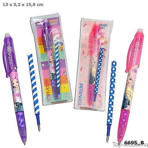 Kép 1/5 - TOPModel radírozható toll, lila